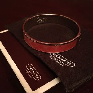 COACH pink bracelet! Never worn.